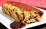 Photo de la recette Cake aux pépites de chocolat