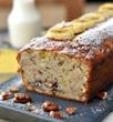 Photo de la recette Cake banane et chocolat