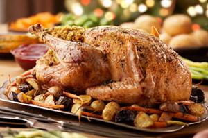 Photo de la recette Chapon du Val d\'Auge (recette de Noël)