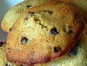 Photo de la recette Cookies au pralin et aux pépites de chocolat