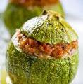 Photo de la recette Courgettes farcies