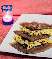 Photo de la recette Crêpes au chocolat