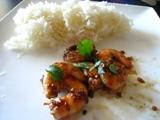Photo de la recette Crevettes sautées au wok