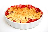 Photo de la recette Crumble aux fruits rouges