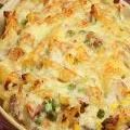 Photo de la recette Gratin de macaronis au thon