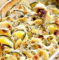 Photo de la recette Gratin de pommes de terre à la mozzarella