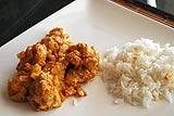 Photo de la recette Poulet au curry, ananas et cacahuètes