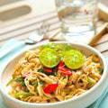 Photo de la recette Poulet sauté au wok et ses nouilles de riz