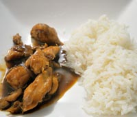 Photo de la recette Poulet teriyaki