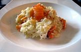 Photo de la recette Risotto au saumon fumé et à la féta
