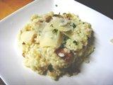 Photo de la recette Risotto aux cèpes et au parmesan
