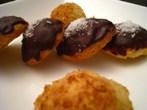 Photo de la recette Sablés à la noix de coco nappage chocolat