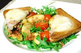 Photo de la recette Salade de chèvre chaud