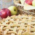 Photo de la recette Tarte aux pommes, miel et amandes